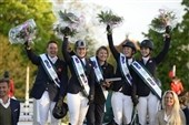Show jumping and dressage – as in a fairy tale