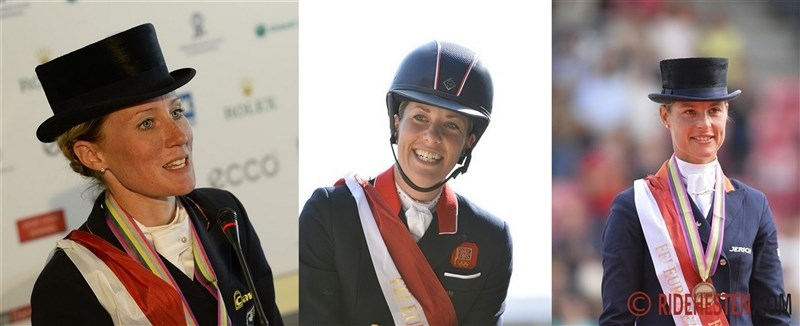 Dressage Freestyle Gold to Valegro and Charlotte