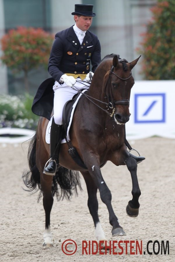Patrick and Deja(SWB) runner-up in Aachen