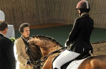 Royal interesse for handicapridning