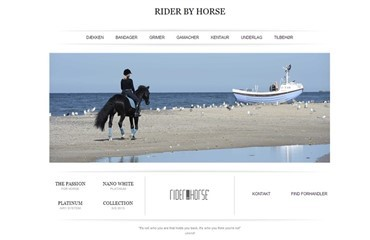 Nyt fra Rider by Horse