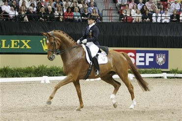 Isabell Werth gæster JBK Horseshows Odense