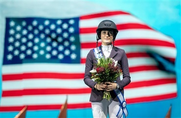 Jessica Springsteen vandt Grand Prixen