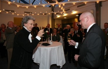 Festlig reception for Dressurens Venner