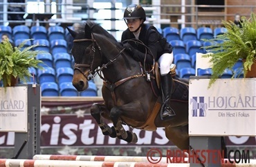 Ponyryttere til tops i Grand Prix-debut