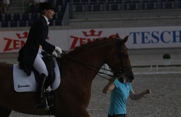 Uvejr over CDI Grand Prix i Aachen