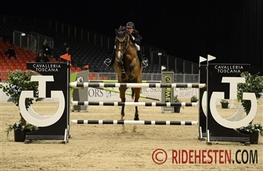 Gitte Dahl sejrer i CSI2* Medium Tour